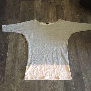 Theory size small sweatshirt dress.